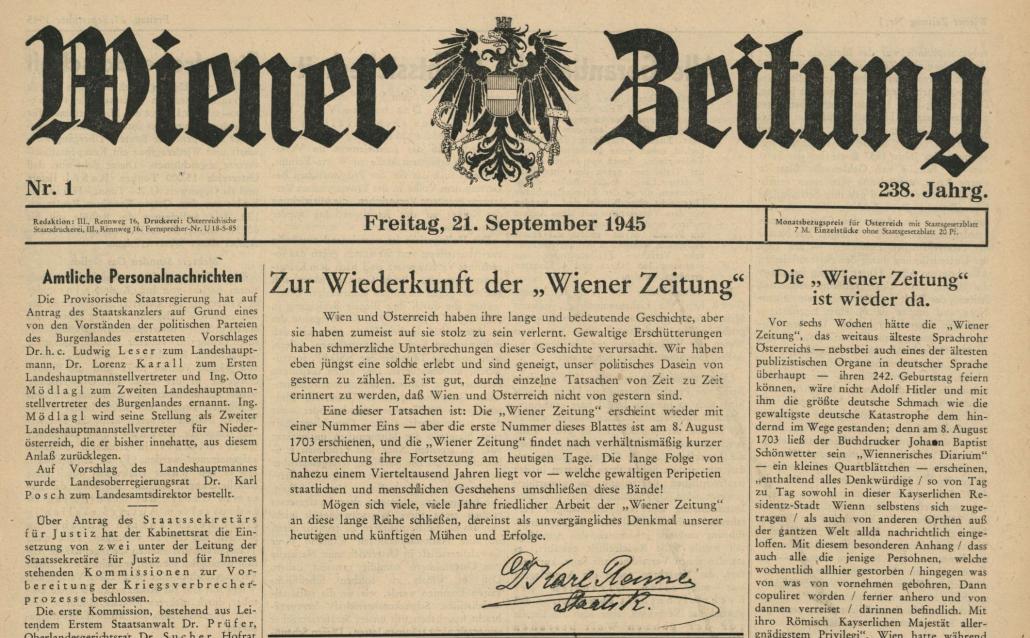östereich Zeitung